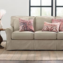 Clara Slipcovered Sofa