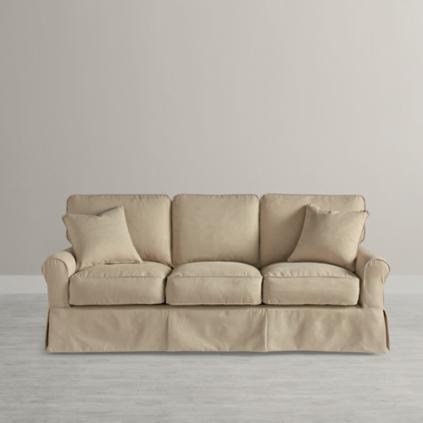 Captivating Clara Slipcovered Sofa