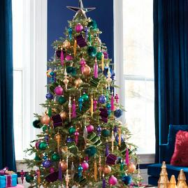 Uptown Brights Designer Christmas Tree — Shop the