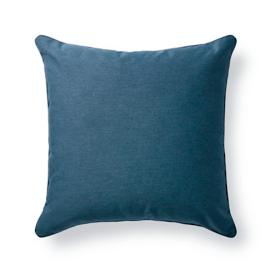 Denim Outdoor Throw Pillow