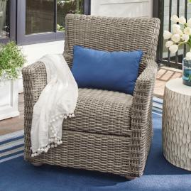 Simsbury Outdoor Wicker Lounge Chair