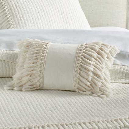 Knotted Fringe Pillow
