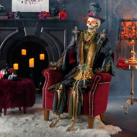 Mark Roberts Mr. Regal Lifesize Fashion Skeleton