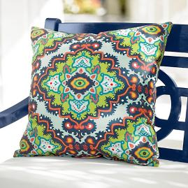 Janice Boho Outdoor Pillow