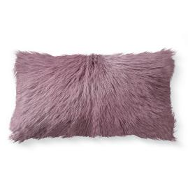 Mongolian Goat Fur Lumbar Pillow