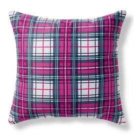 Alina Outdoor Pillow Plaid