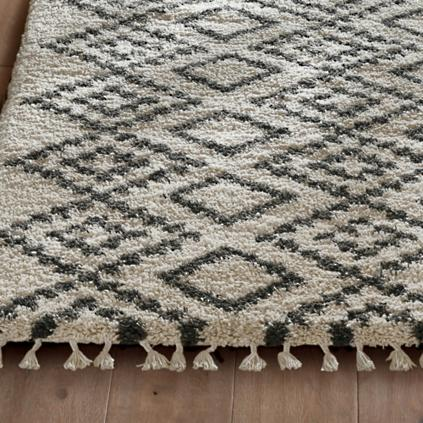 moroccan tufted rug ninfa kaleidoscope nuloom hand shag from by