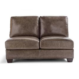 LaSalle Armless Loveseat
