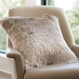 Ombre Shag Pillow