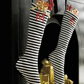 Striped Long Stocking