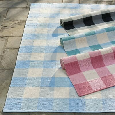 Leo Buffalo Plaid Outdoor Rug Grandin Road