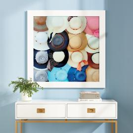 Colorful Hats Wall Art