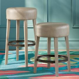 Iris Apfel Backless Bar & Counter Stool