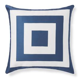 Hampton Nautical Square Outdoor Pillow
