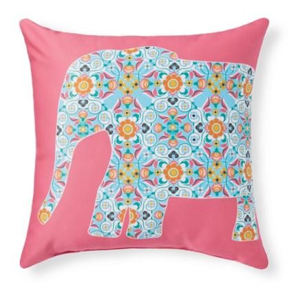 canoes gal coral square pillows outdoor leland pillow collections