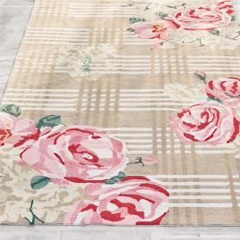 Garden Plaid Outdoor Rug