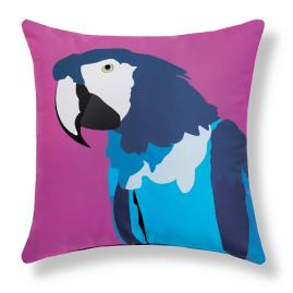 Maggie Parrot Outdoor Pillow