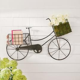 Bicycle Outdoor Wall Decor