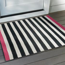 Felicity Border Stripe Doormat