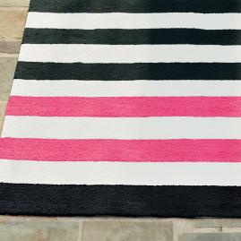 Felicity Asymmetrical Stripe Outdoor Rug
