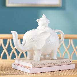 Iris Apfel Elephant Tea Pot