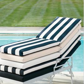 Knife-edge Chaise Cushion