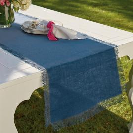 Fringed Jute Table Runner