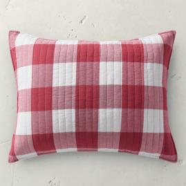 Kipton Buffalo Check Sham