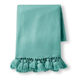 Multi Fringe Throw
