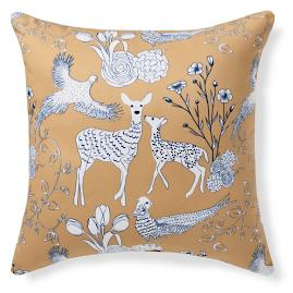 Darcy Forest Friends Outdoor Pillow