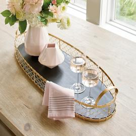 Timmins Oval Tray