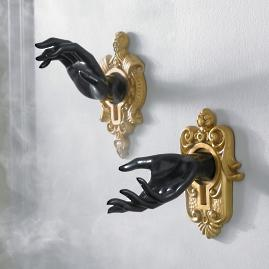 Enchanted Wall Mount Hands, Set of Two
