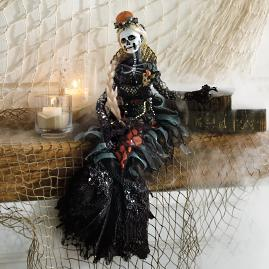 Mermaid Skeleton Doll
