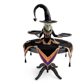 Katherine's Collection Mable Witch Tabletop Server
