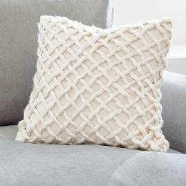 Marlow Open Weave Pillow