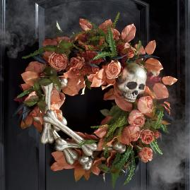 Fright Floral Wreath