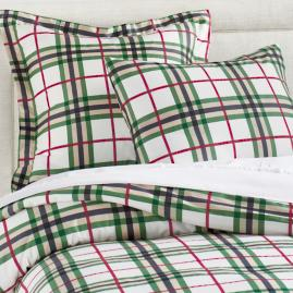 Maguire Plaid Duvet Cover