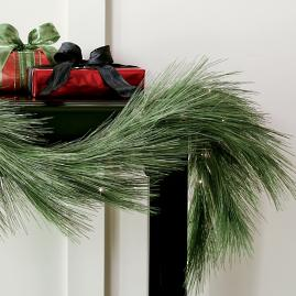Long Needle Cordless Garland