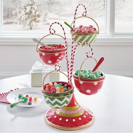 Ornament Snack Bowl Stand