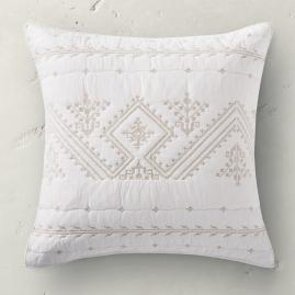 Larken Embroidered Euro Sham