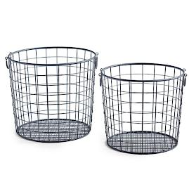 Everest Metal Basket, Set of Two