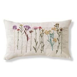 Garden Stems Outdoor Lumbar Pillow