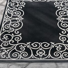 Lolita Border Outdoor Rug