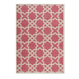 Sanibel High-Low Trellis Outdoor Rug