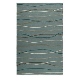 Marina Ocean Waves Outdoor Rug