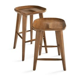 Adams Backless Bar & Counter Stool