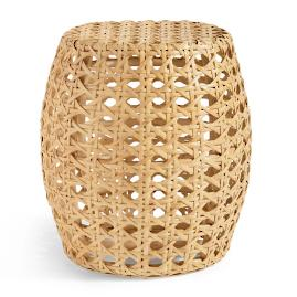 Hex Weave Accent Table