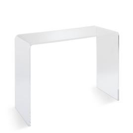 Chamonix Acrylic Tall Console Table