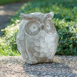 Edwin Owl Garden Decor
