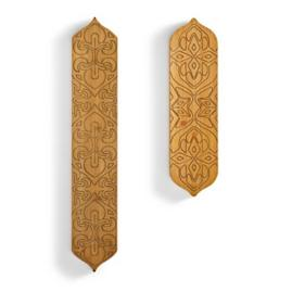 Gabreth Carved Wall Art, Set of Two